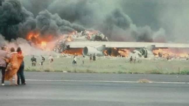 Pan Am Crash in 1977