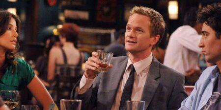 Barney Stinson Drinking
