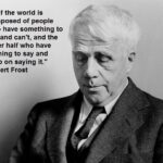 Robert Frost 150x150 100 days of trying to motivate myself and you