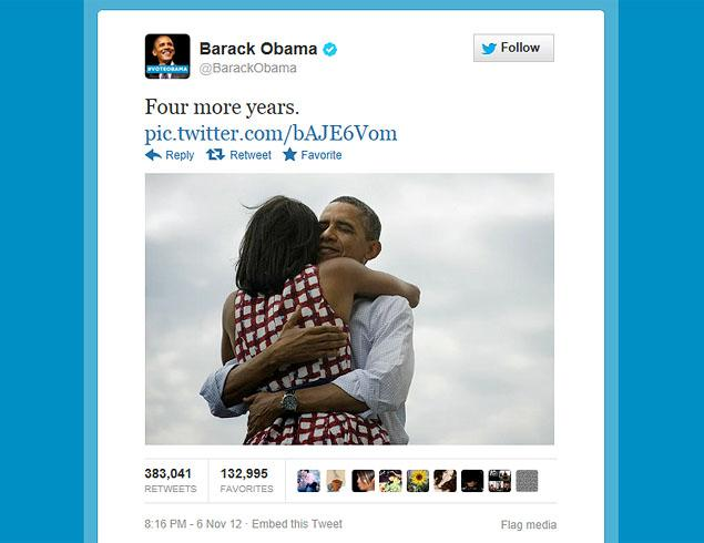 President Barack Obama 5 Social Media Highlights of 2012