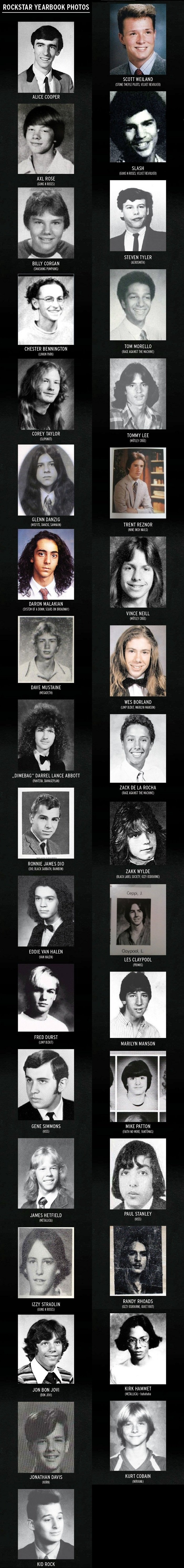 Rockstar-Yearbook-Photos Rock Star Yearbook Photo Collection