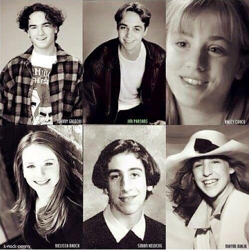 Big Bang Theory Cast as Kids