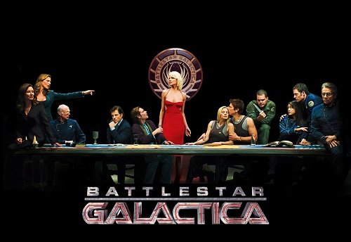 "Battlestar-Galactica Battlestar Galactica ""Friends Style"" Opening (Video)"