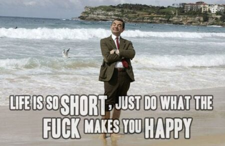 Here's Some Wicked Life Advice from Mr Bean 1