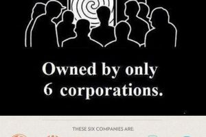 6 Corporations Infographic