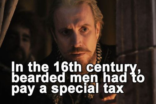 Bearded Men Tax
