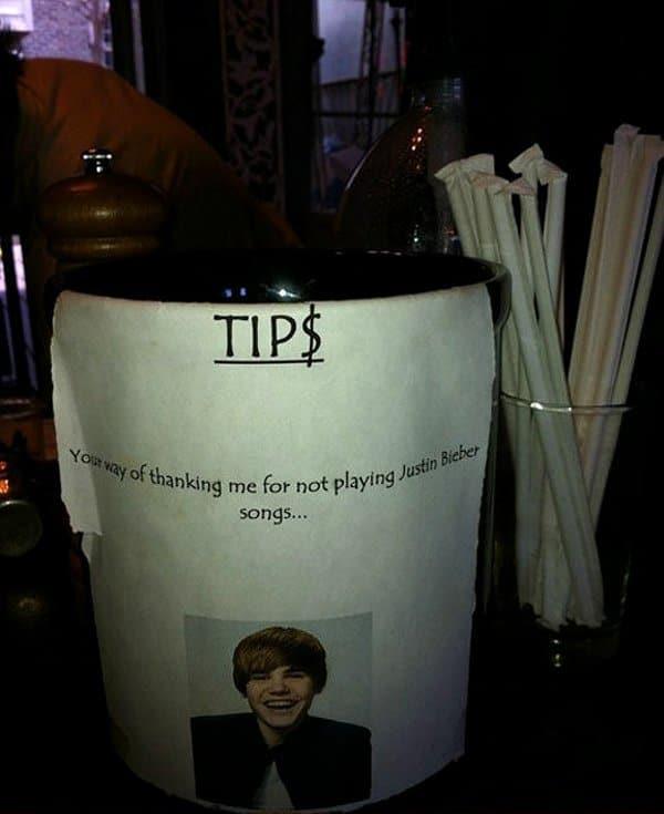 Justin Bieber Tip Jar 09