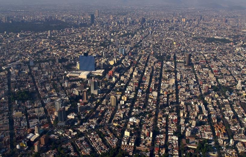 Mexico-City-Skyline Photo Album: Skylines of the world's 10 biggest cities