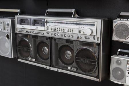 1980s Boombox