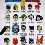 Superheroes Have Issues 150x150 Labels With Accurate Descriptions