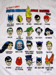 Superheroes Have Issues Too! 1