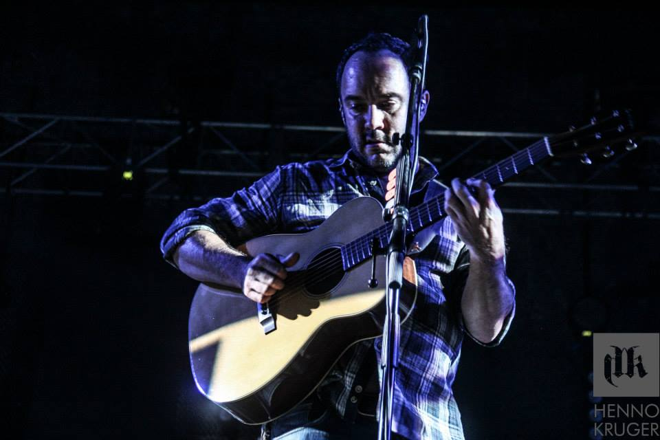 Dave Matthews Band @ Coca Cola Dome 17 International acts I photographed in 2013