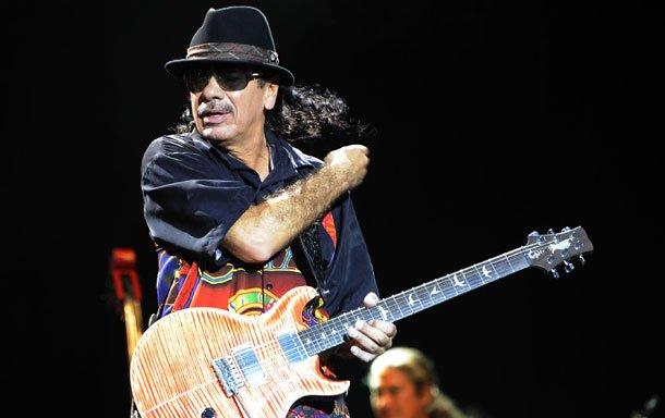 Carlos-Santana My experience: Santana at FNB Stadium