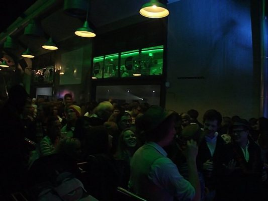 Crowd at Arcade Empire