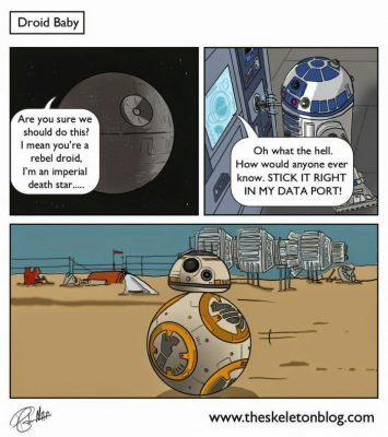 12 Star Wars: The Force Awakens Funnies (Warning: Contains Spoilers) 13