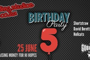 Don't miss the Recording Studios 5th Birthday Party!