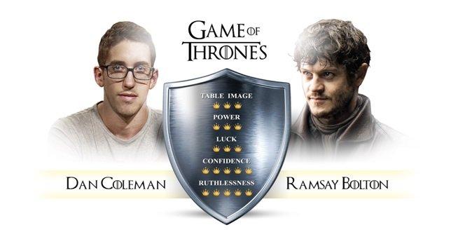 Ramsay 6 Amazing Personalities Combined Between Games of Thrones and Poker