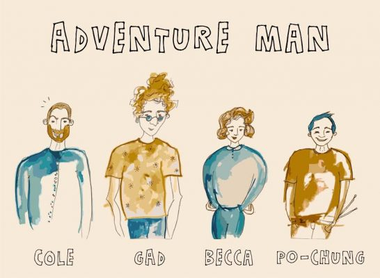 A quick interview with Adventure Man 5