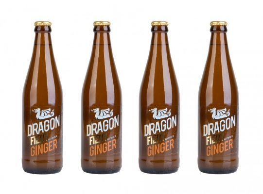 Dragon-1 An interview with the folks that brew Dragon Fiery Ginger