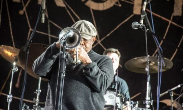 Hugh Masekela at Oppikoppi