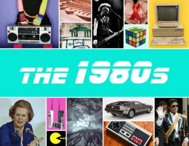 The 1980s - 80s music