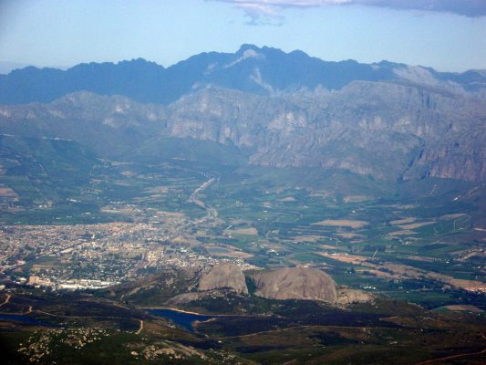 Paarl - Places for SA Music Festivals