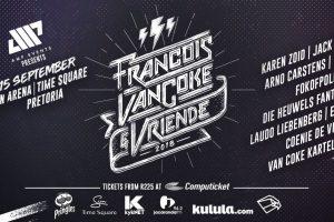 Francois van Coke & Vriende by Sun Arena: 4 redes hoekom ek uitsien