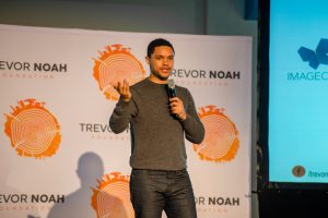 Support the Trevor Noah Foundation via Backabuddy