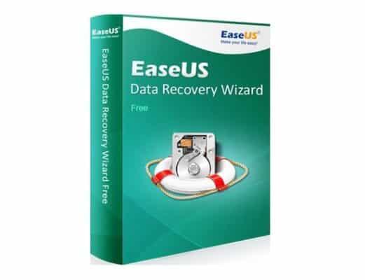EaseUS recover data