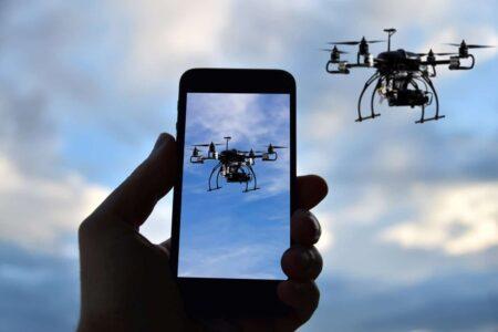 Smartphones and Drones