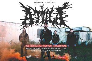Catch Attila Live in Johannesburg at Rumours Rock City