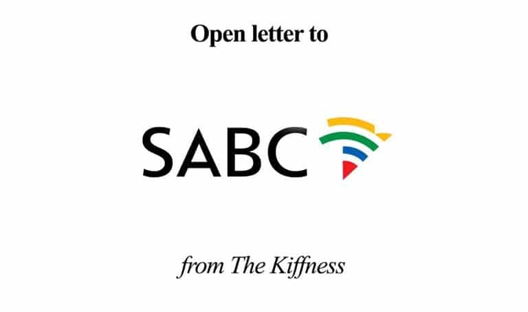 Open Letter to SABC
