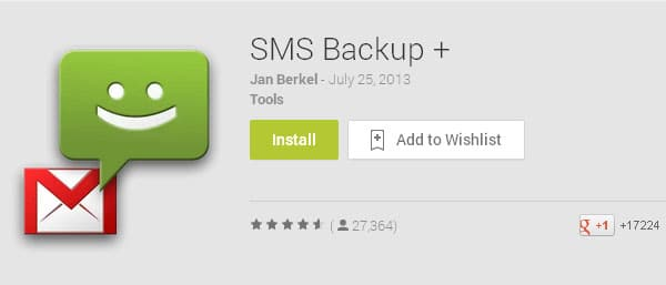 SMS Backup+ - Backup Text Messages on Android