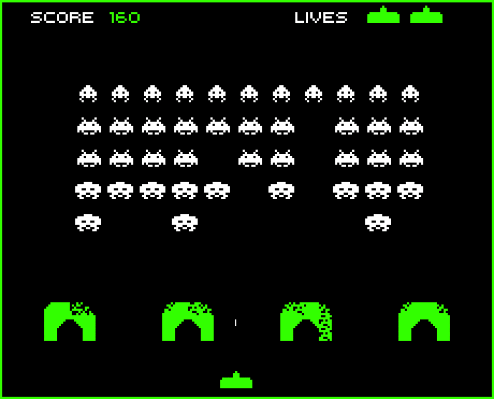 Space Invaders - 1978