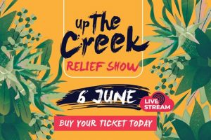 Up The Creek Online Relief Show Announced