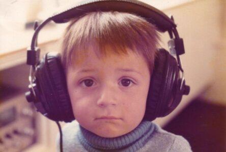 1970s headphones - kids