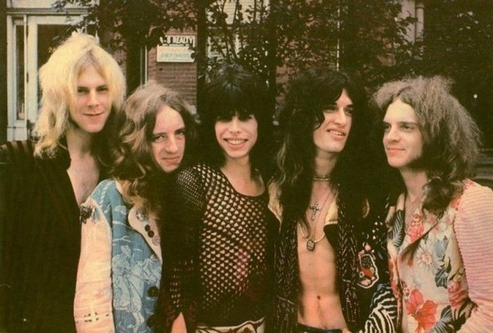 Aerosmith in 1970