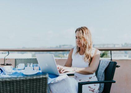 Balcony Workspace - Freelance Writers
