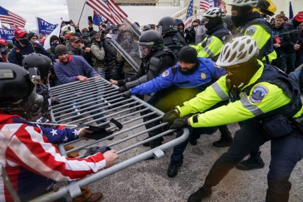 Capitol Riots - Washington DC - 7 Jan 2021
