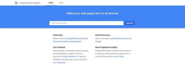 Pagespeed - WordPress Maintenance