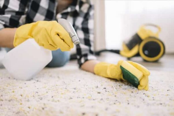 Adult Washing Carpet - Whiskey Stain