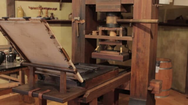Printing Press - Inventions