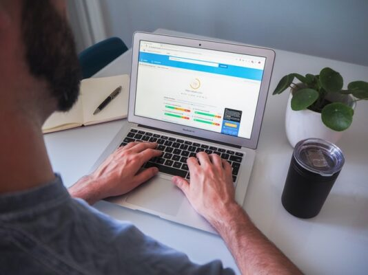 SEO - Person Working