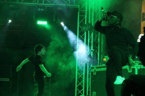 Jax Panik on stage @ Oppikoppi 2011