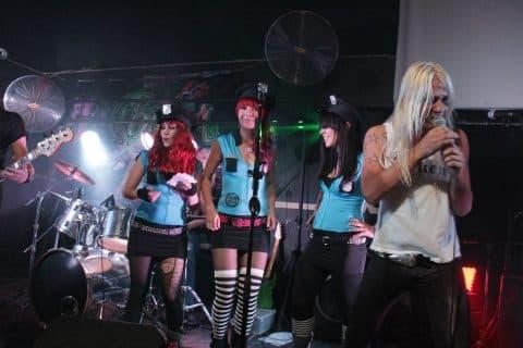 LA Cobra on stage @ Zepplin's Rock Shack
