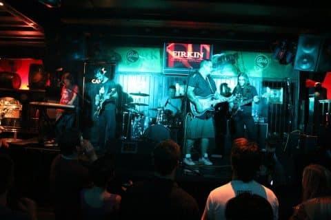Mrs B on stage @ Firkin, Centurion 2011