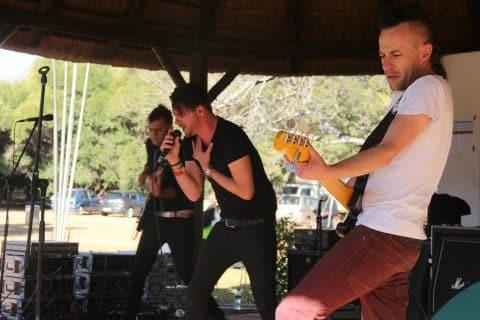 The Graeme Watkins Project on stage @ Pretoria Botanical Gardens